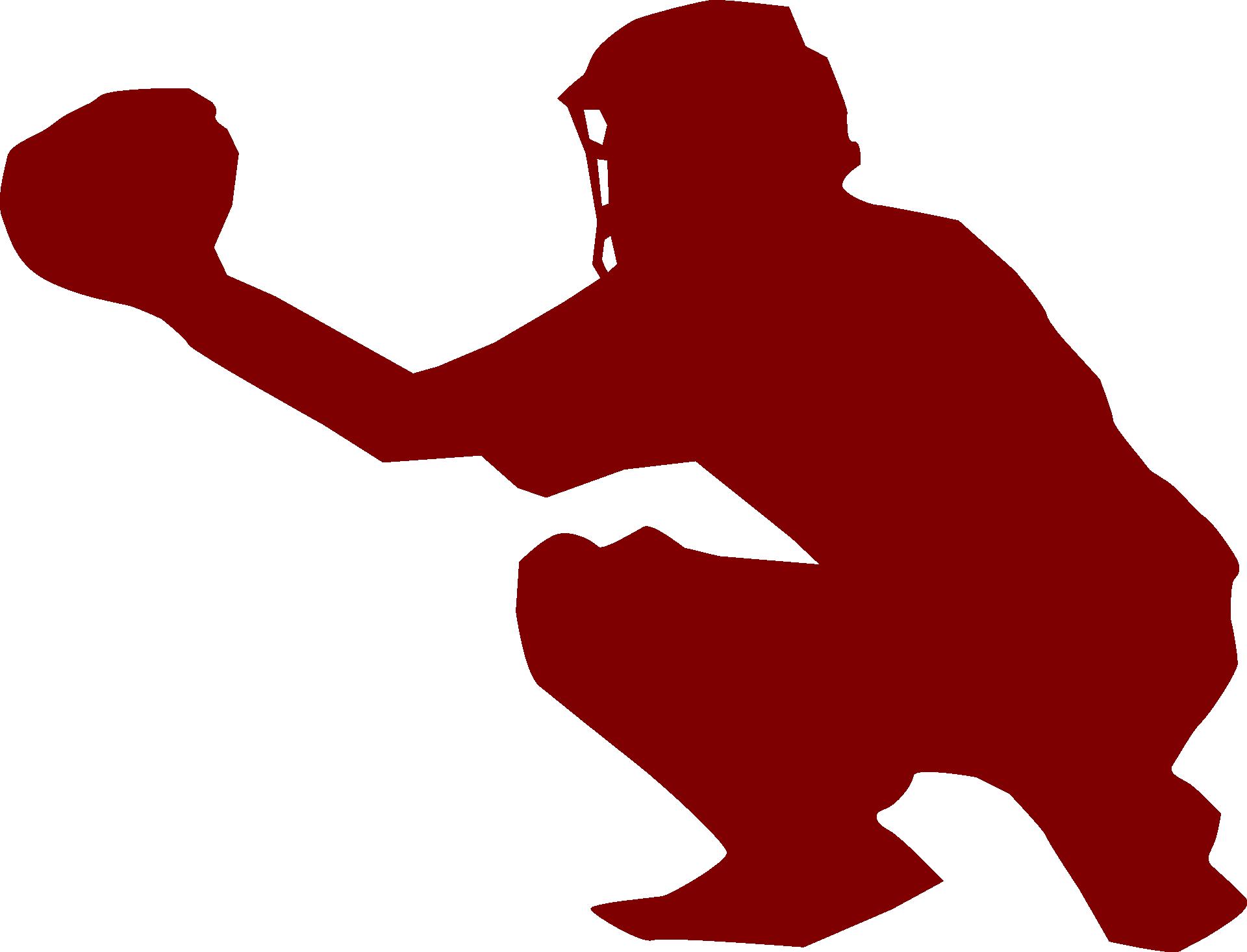 softball catcher clip art - HD1280×977