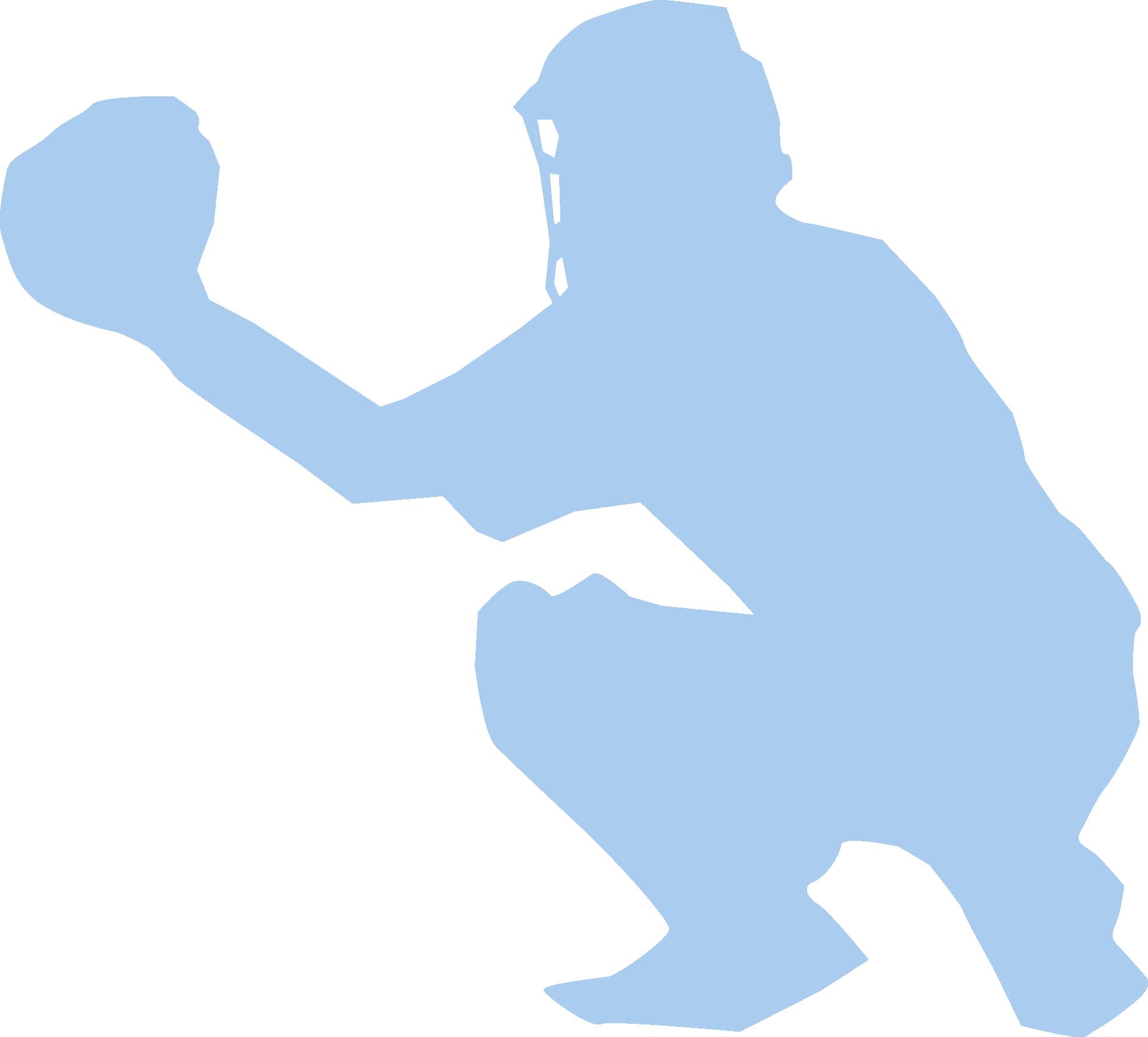 softball catcher clip art - 900×813