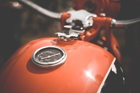 retro motorcycle fuel tank
