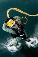 Photo of Navy diver
