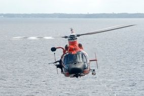 helicopter coast guard training
