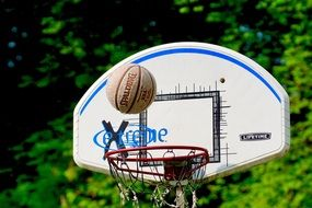 basketball sport ball basket