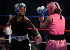females boxing sport