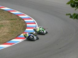 valentino rossi and alvaro bautista on races