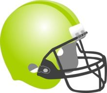 green baseball helmet