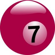 billiard ball number 7