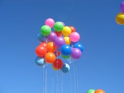 colorful multicolored balloons