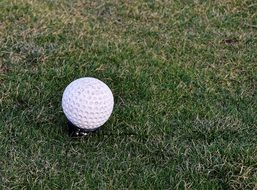 small golf ball