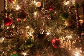 christmas tree cross
