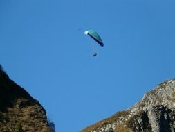 paragliding fly screen