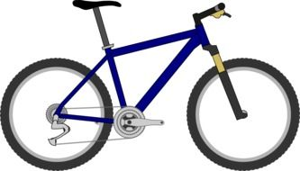 activity bicycle drawing