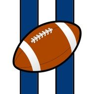 picture of american football ball