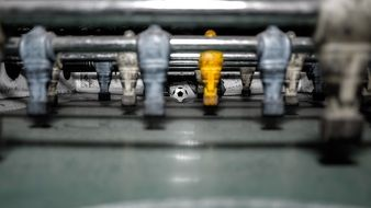 table football players stick