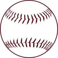 baseball stitches softball ball