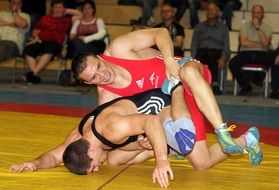 wrestling as a contact sport