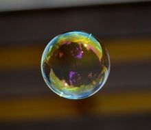 soap bubble colorful ball N31