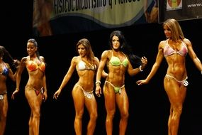international bodybuilding fitness models