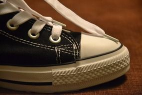 Side view of sports shoes