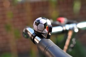 ball-shaped bicycle bell
