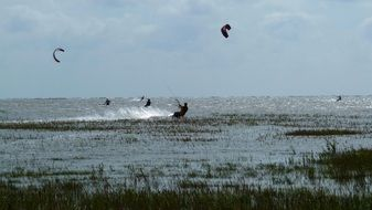 water sports kite surf