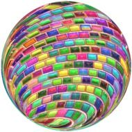 colorful ball drawing