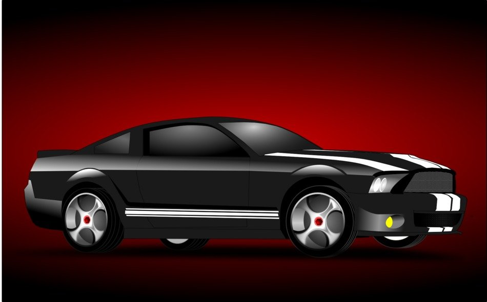 auto car ford drawing