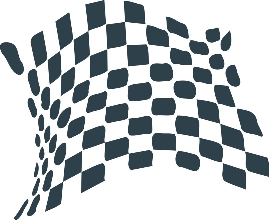 flag chequered drawing