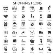 shopping and sales icons N2