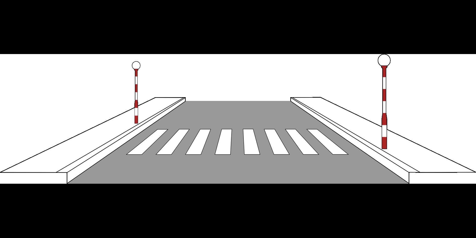 пешеходный переход красный свет  № 1504894 бесплатно