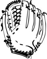 picture of baseball glove