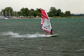 wind surfing sport