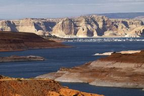 lake powell in Arizona USA