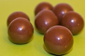 Chocolate ball candies
