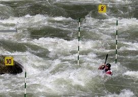 kayak sports competition