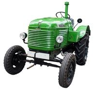 green old oldtimer tractors