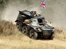 alvis saracen military vehicle