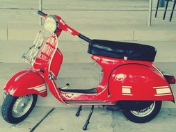 vespa retro scooter