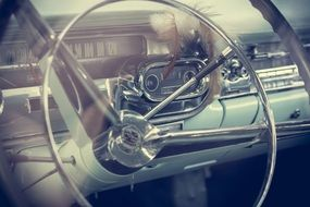 Picture of classic oldtimer car
