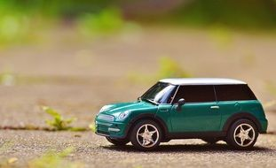 cute little mini cooper