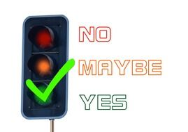 graphic image of a traffic light with a green signal