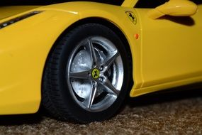 ferrari car wheel