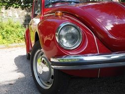 vw beetle auto lights spotlight