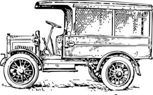 oldtimer transportation vehicle car