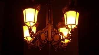 historic street lighting lantern