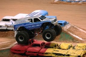 real monster truck rally