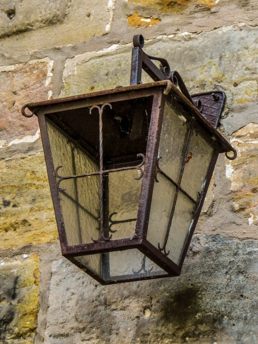 street lamp of middle ages