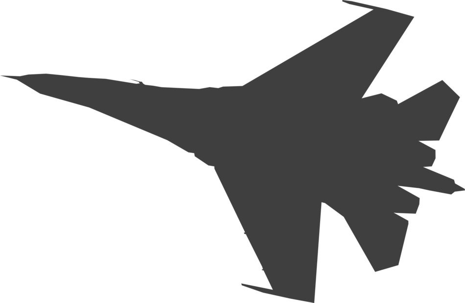 plane military jet drawing