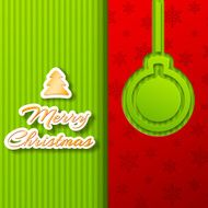 merry christmas and happy new year background cards concepts Vector N12