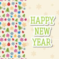 merry christmas and happy new year background cards concepts N12