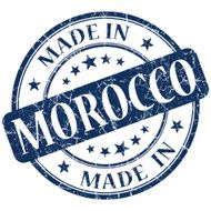 made in morocco stamp